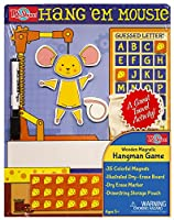 Hang'em Mousie Wooden Magnetic Game Board