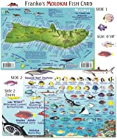 Franko Maps Molokai Reef Creatures Fish ID for Scuba Divers and Snorkelers by Franko Maps