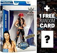 アダム・ローズW /帽子、サングラス、ベスト&ネックレス: WWE Eliteコレクションアクションフィギュアシリーズ+ 1Free official WWE Tradingカードバンドル