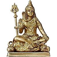 Purpledip vzx381 Lord Shiva Mahadev with Trishool Statue