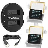 バッテリーパック Newmowa LP-E12 互換バッテリー 2個 + 充電器 セット Canon LP-E12 Canon EOS M M2 M10 M100 M200 EOS 100D EOS Rebel SL1 EOS KISS X7 EOS