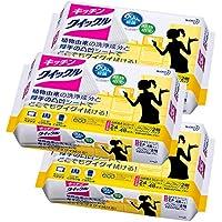【まとめ買い】キッチンクイックル 台所用洗剤 シートタイプ 詰替用 24枚×3個