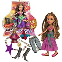 MGA Entertainment Bratz Genie Magic Series 25cm Doll Set - YASMIN with 2 Set of Outfits, Boots, Crystal Ball, Magic Lamp & Necklace for You