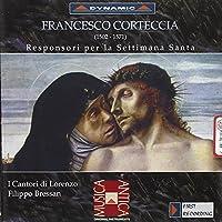 Responsori Per La Settimana Sa by FRANCESCO CORTECCIA