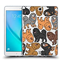 Head Case Designs チベタン・マスチフ ドッグブリード・パターンズ 5 Samsung Galaxy Tab A 9.7 専用ソフトジェルケース
