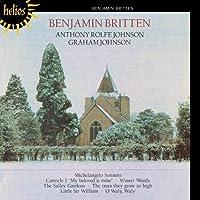 Britten: Michelangelo Sonnets, Winter Words. by Anthony Rolfe Johnson (2001-07-10)
