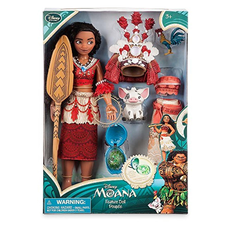 ディズニー (Disney) モアナと伝説の海 モアナ シンギングフィーチャードール セット 28cm 11
