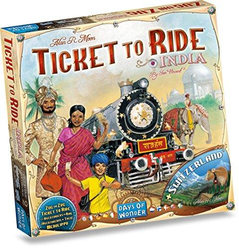 チケット・トゥ・ライドインド拡張セット (Ticket To Ride: INDIA) ボードゲーム