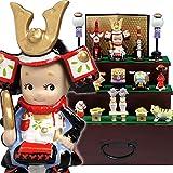 ローズオニールキューピー五月人形・三段飾り かわいいコンパクト収納飾り