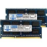 Ryonan ノートPC用 メモリ 1.5V 1.35V (低電圧) PC3L-12800 DDR3L-1600 永久保証 (8GB×2枚)