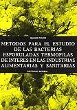 FILA Métodos estudio bacterias termófilas esporuladas en industrias...