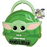 Innovative Designs Star Wars Mandalorian Baby Yoda Coloring & Sticker Activity Set for Kids with Travel Carrying Case