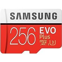 Samsung EVO Plus マイクロSDカード 256GB microSDXC UHS-I U3 100MB/s…