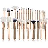 Jessup30 Pcs New Brush Set Make up Brushes Eye Brush Foundation Make-up Brush Professional Beauty Makeup Golden/Rose Gold T40