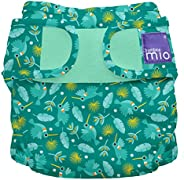 Bambino Mio, miosoft Cloth Nappy Cover, Hummingbird, Size 1 (<9k