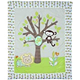 Lolli Living Baby Quilt, Animal Tree by Lolli Living
