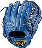 ZETT(ゼット) ソフトボール グラブ (グローブ) デュアルキャッチ オールラウンド 右投用 ブルー(2300) LH BSGB53820