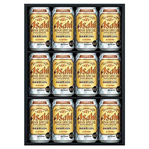 【ギフト限定】アサヒスーパードライ ジャパンスペシャル缶ビールセット(JS-3N) [ 350ml×12本 ] [ギフトBox入り]