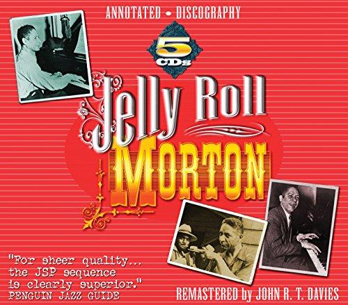 Jelly Roll Morton 5CD Boxed Set