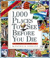 1,000 Places to See Before You Die 2019 Calendar: Picture-a-Day