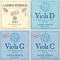Larsen up to 16.5 Viola String Set Medium Gauge with Ball-End A [並行輸入品]