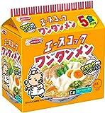 エースコック ワンタンメン 5食