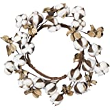 Primitives by Kathy Cotton Candle Ring Home Accents 12-Inch Outside Diameter