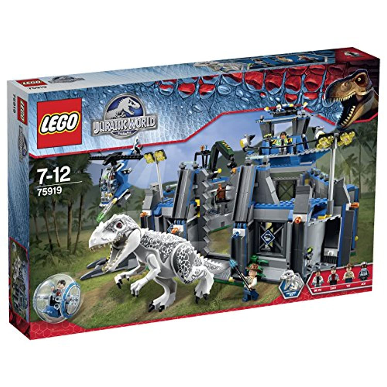 レゴ (LEGO) ジュラシックワールド インドミナス?レックスの脱走 75919