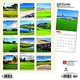 Golf Courses 2019 Calendar 画像