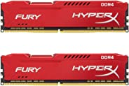 キングストン Kingston デスクトップ オーバークロック PCメモリ DDR4-2666 8GBx2枚 HyperX FURY CL16 1.2V HX426C16FR2K2/16 永久保証