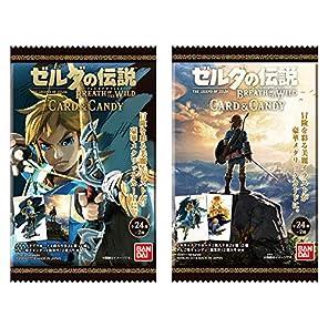 ゼルダの伝説 ブレスオブザワイルド カードキャンディ (20個入) 食玩・キャンディ (ゼルダの伝説 ブレス オブ ザ ワイルド)