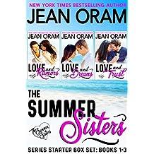 The Summer Sisters: Series Starter Box Set (Books 1-3): Billionaire Sweet Contemporary Romances