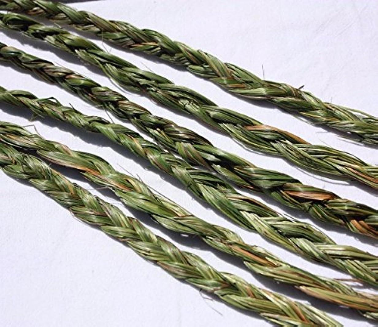 系譜トークマージンオーラVariety Braided Sweetgrass for Smudging – 20