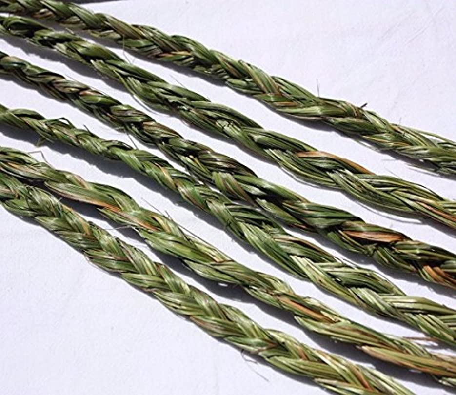 ヶ月目組み合わせ書くオーラVariety Braided Sweetgrass for Smudging – 20