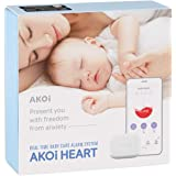 AKOi Heart Real Time Baby Care Alarm System, Baby Monitoring Sensor, Breathing Monitor, Rollover Monitor, Diaper Monitor