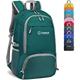 ZOMAKE 30L Lightweight Packable Backpack Water Resistant Hiking Daypack,Small Travel Backpack Foldable Camping Outdoor Bag Am