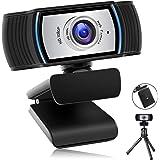 URVOLAX ウェブカメラ Webカメラ 300万画素 手動フォーカス マイク内蔵 CCDセンサー採用されフルHD10…
