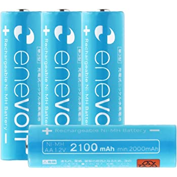 amazon エネボルト enevolt 大容量 単3形充電池 3000mah ニッケル水素