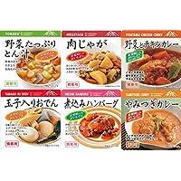 非常食おかずお試しセット 東和食彩 備蓄用惣菜6種