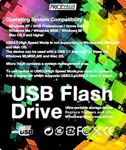 PRICE_VALUE 大容量 512GB USBメモリ 4~5M/s この速度でOK キーホルダー型 シルバー(生涯保証)