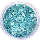 シェルパウダー クラッシュホログラム たっぷり3g入り 12色から選択可能((ブルー)