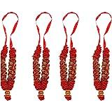 Aditri Creation Mala Small Set of 4 Mix (Red)