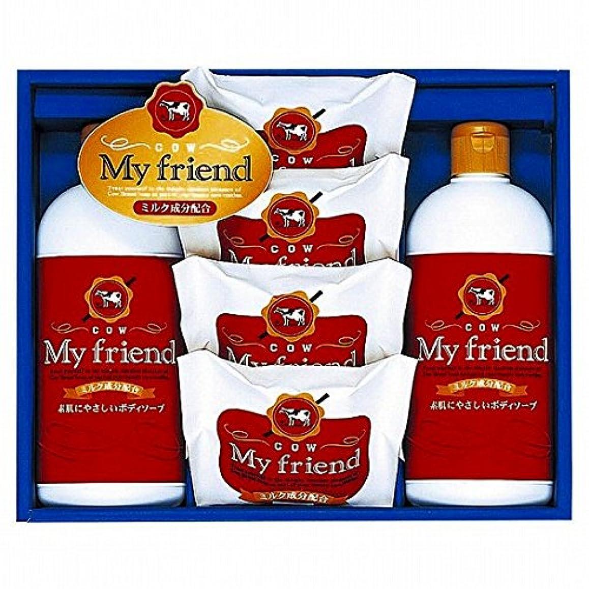 誘惑屈辱するバリアnobrand 牛乳石鹸 マイフレンドボディソープセット (21940008)