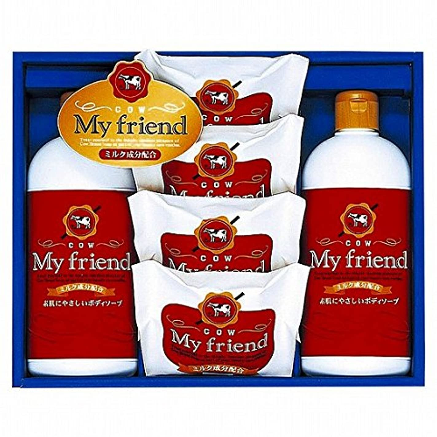 nobrand 牛乳石鹸 マイフレンドボディソープセット (21940008)