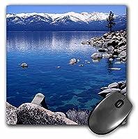 3drose LLC 8x 8x 0.25インチTahoe Snow Mtsマウスパッド( MP _ 21901_ 1)