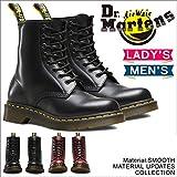 マーチンホーム Dr.Martens ドクターマーチン1460 8-EYE BOOT 8ホールブーツ男女兼用 ワークブーツ レディース メンズ エンジニア ショートブーツ (UK8(27cm), ブラック)