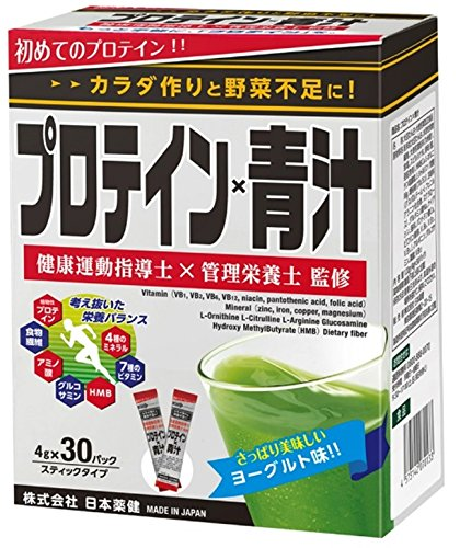 日本薬健 プロテイン×青汁