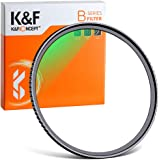 K&F Concept MCUVフィルター 49mm 保護フィルター 紫外線カット 光学ガラス 多層加工 薄枠 99% 透過率