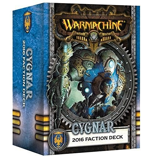 [ウォーマシン]Warmachine Cygnar: Faction Deck PIP 91103 [並行輸入品]