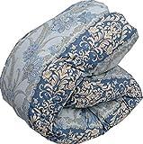 羽毛布団 マザーグース グース シングル 国産 ブルー 6つ星 プレミアムゴールドラベル認定 ポーランド産 ダウン93% 日本製 羽毛掛け布団 布団 ふとん
